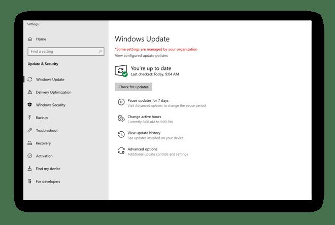 So bleiben Sie in Windows 10 auf dem neusten Stand