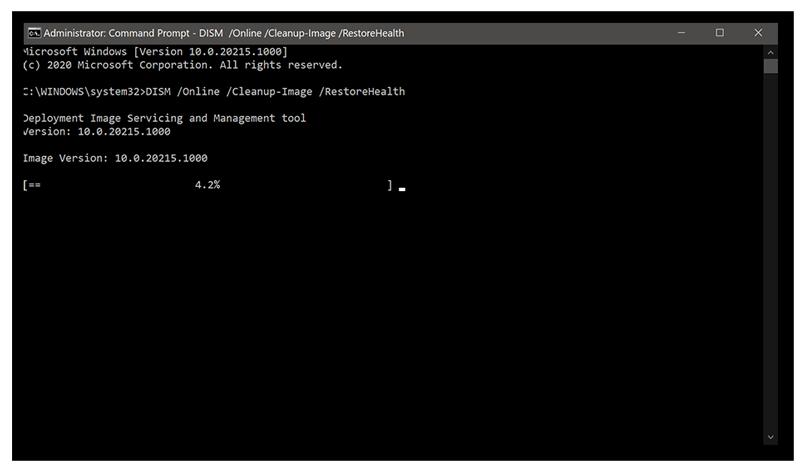 Utilisation de l'invite de commandes pour rechercher les erreurs sur l'ensemble de votre système Windows