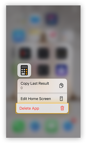 Here's how to delete unwanted apps in iOS.