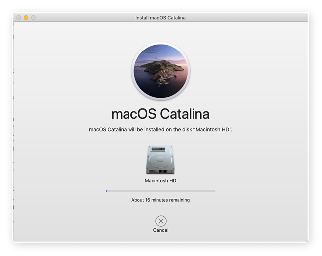 Updating your operating system in macOS Catalina can take a few minutes, but it's worth it.