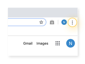 "Start by opening up ""Settings"" on Google Chrome."