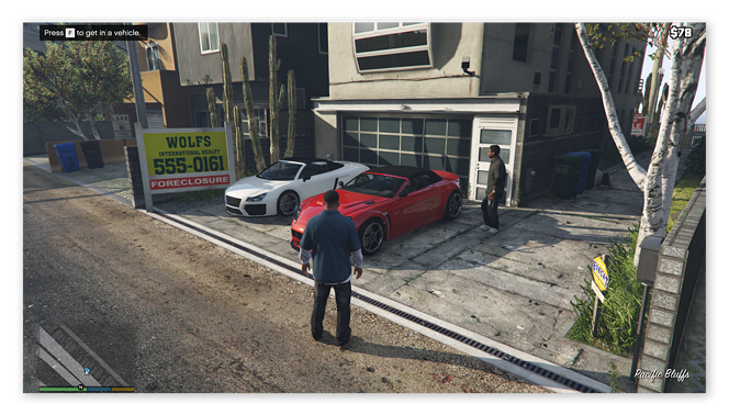 Grand Theft Auto V on Windows 10 with the highest graphics settings