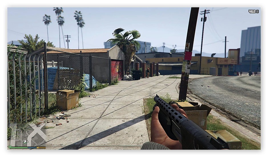 The GTA V FoV mod expands what your character can see during game play.