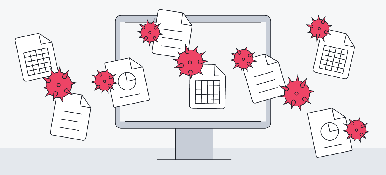 Apps in the Microsoft office suite are particularly vulnerable to macro viruses.
