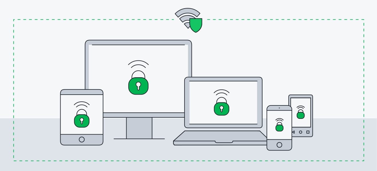 AVG Secure VPN can simultaneously protect up to 10 devices at once.