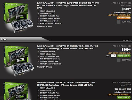 GeForce Preisvergleich - Screenshot