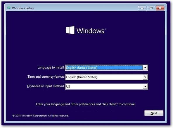Windows 10 Set Up