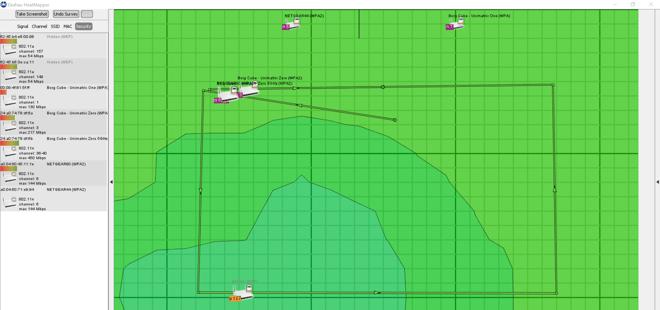Analisando os hotspots do Heatmapper