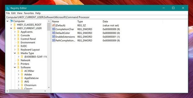 So sieht die Windows-Registrierung aus