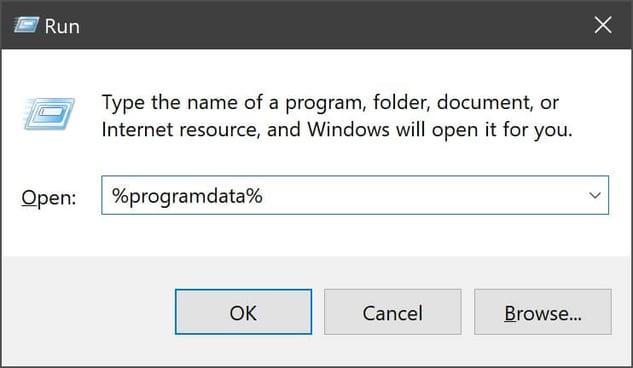 Comment désinstaller des applications à l'aide de la ligne de commande program data sous Windows