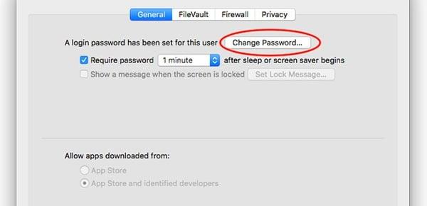 So ändern Sie Ihr Mac-Passwort