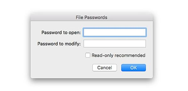 How to password-protect an Excel file on your Mac