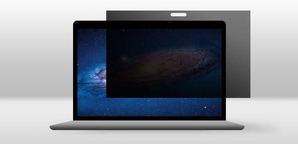 Un filtro de pantalla para el MacBook puede proteger su privacidad