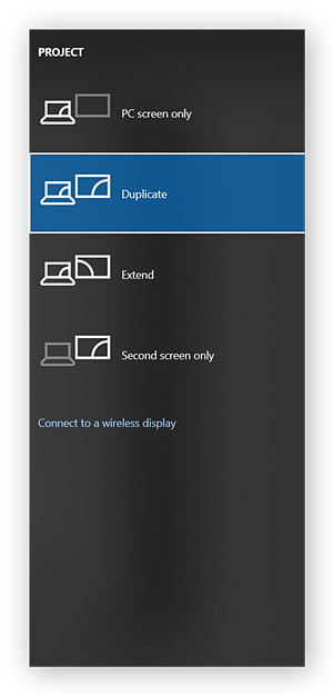 Switching between display modes